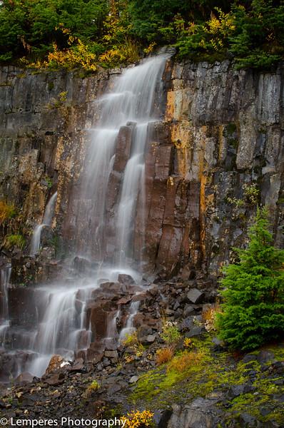 Autumn Waterfall<br /> Mt. Baker