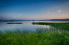 Yellowstone Lake Sunset Reflection
