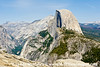 A painterly Half Dome.