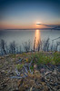 Yellowstone Lake Sunset