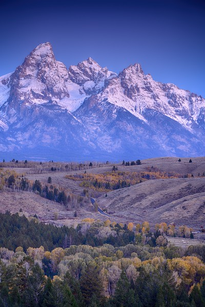 Autumn Sunrise in the Tetons