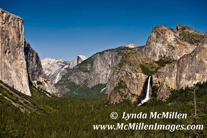 """""""The Tunnel View""""  Yosemite National Park California"""
