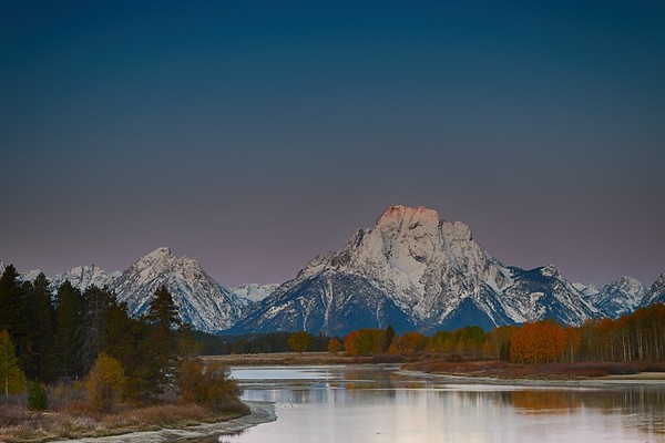 Autumn Morning at Oxbow Bend