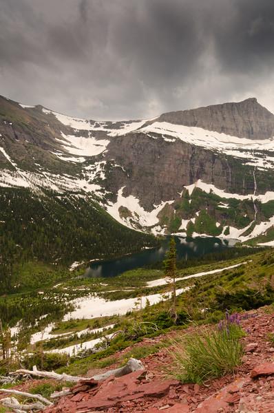 Grizzly Lake<br /> Glacier National Park, Montana