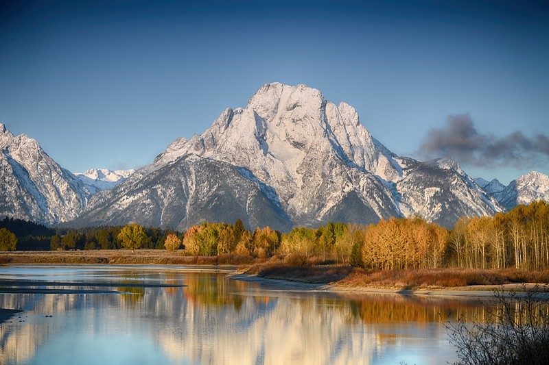 Grand Teton Autumn splendor