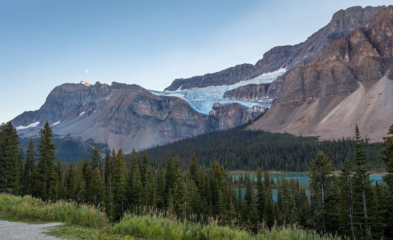 Crowfoot Glacier, Icefields Parkway, Banff National Park, Alberta