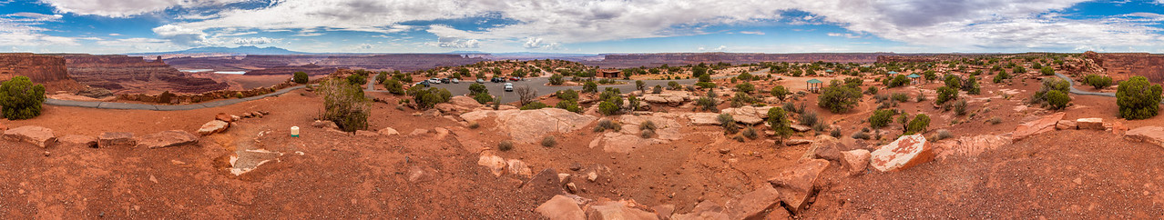 360° panorama, Dead Horse Point State Park, Utah