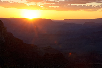 Sunset at Yavapai Point, Grand Canyon National Park