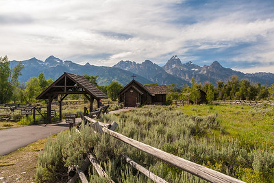Chapel of the Transfiguration at Menor's Ferry Historic District, Grand Teton National Park