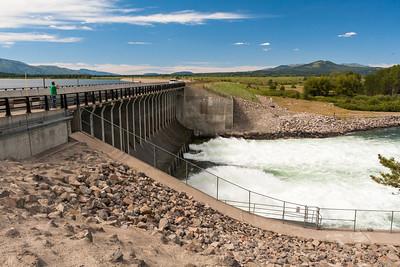 Jackson Lake Dam, Grand Teton National Park