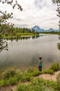 Snake River & Teton Range from Oxbow Bend Overlook, Grand Teton National Park