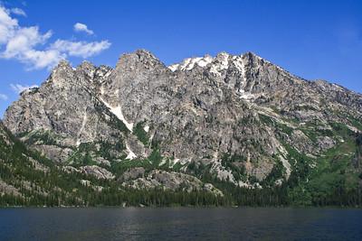 Boat trip across Jenny Lake, Grand Teton NP