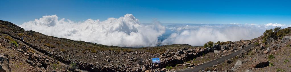 Driving up to Haleakala National Park