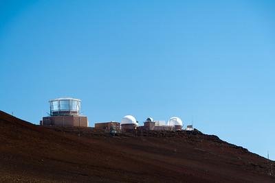 Maui Space Surveillance System at Haleakala National Park