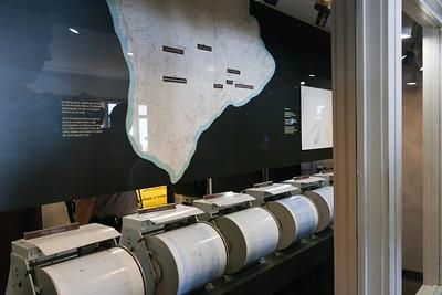Hawaii Volcanoes National Park, registering seismic activity