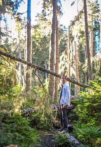 Hiking to Lower Joffre Lake, British Columbia