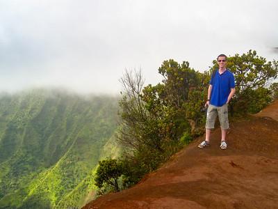 Pu'u o Kila lookout at Koke'e State Park