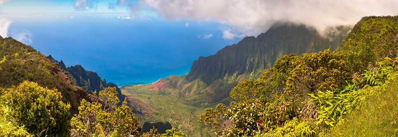 Kalalau Lookout at Koke'e State Park