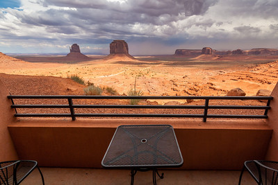 Monument Valley from The View Hotel, Arizona