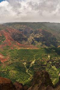 Waimea Canyon Lookout at Waimea Canyon State Park