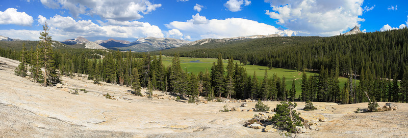 Tuolumne Meadows from Pothole Dome, Yosemite National Park