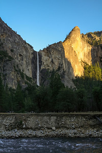 Bridalveil Falls, Yosemite National Park