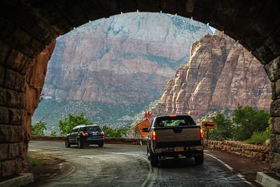 Zion-Mount Carmel Tunnel, Zion National Park