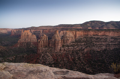 Colorado National Monument in Grand Junction, Colorado.