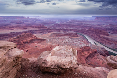 Dead Horse Point National Park, outside of Moab, Utah.