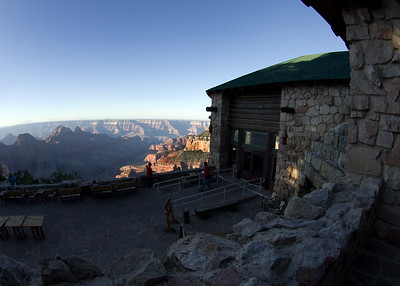 Grand Canyon Lodge on the North Rim