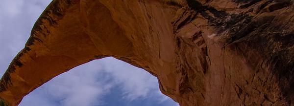 Bridges National Park in Utah.