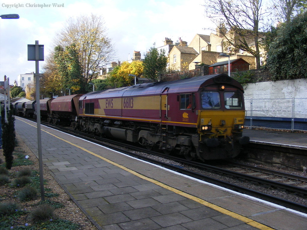 66113 with a coal working at Putney