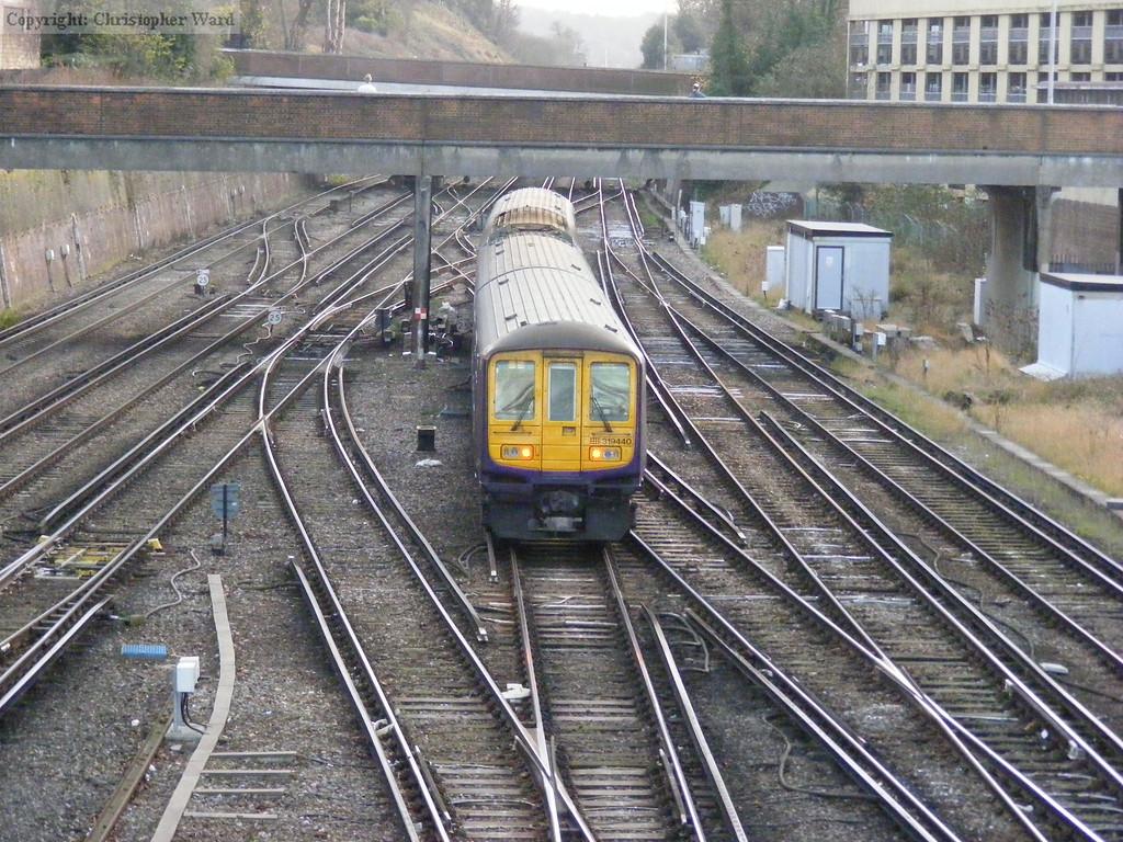 319440 heads for Brighton