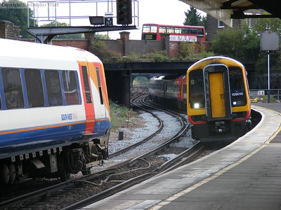 Weymouth and Waterloo trains