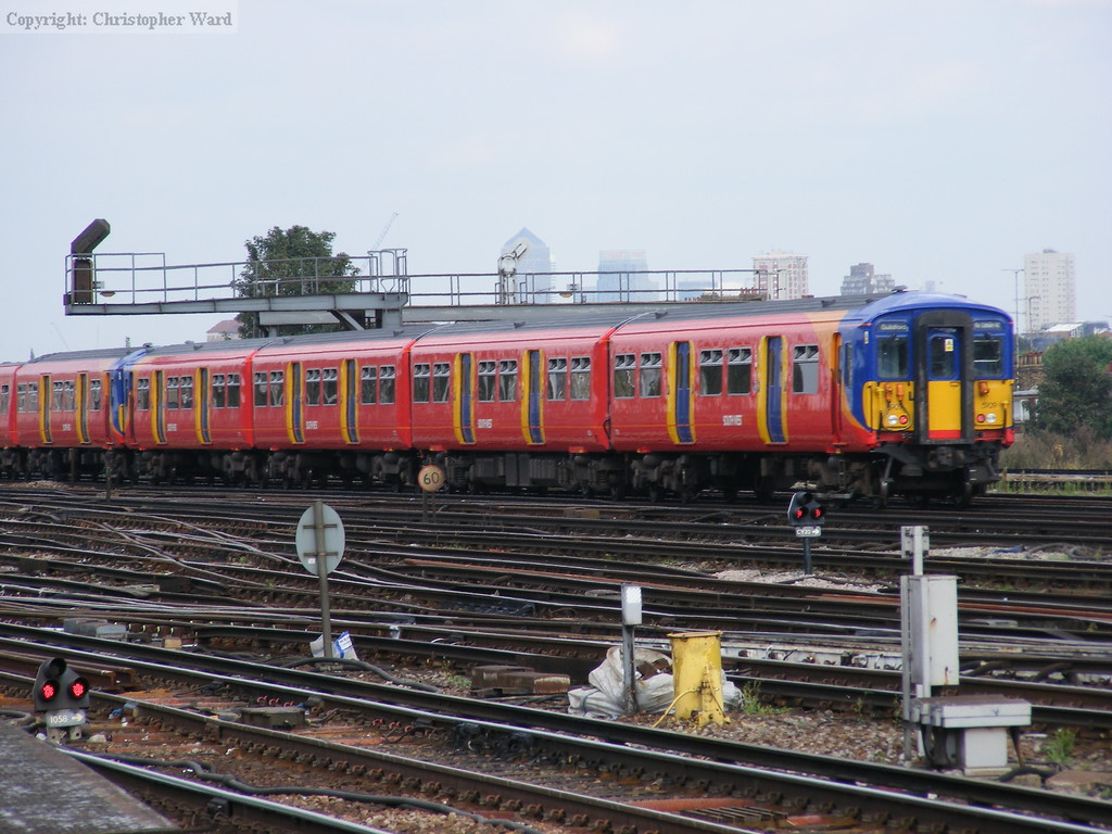 An SWT service on the main line