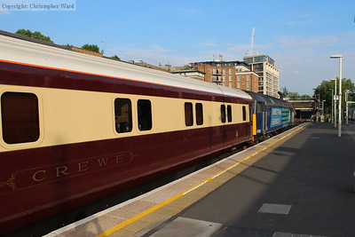 "Former sleeping car ""Crewe"""
