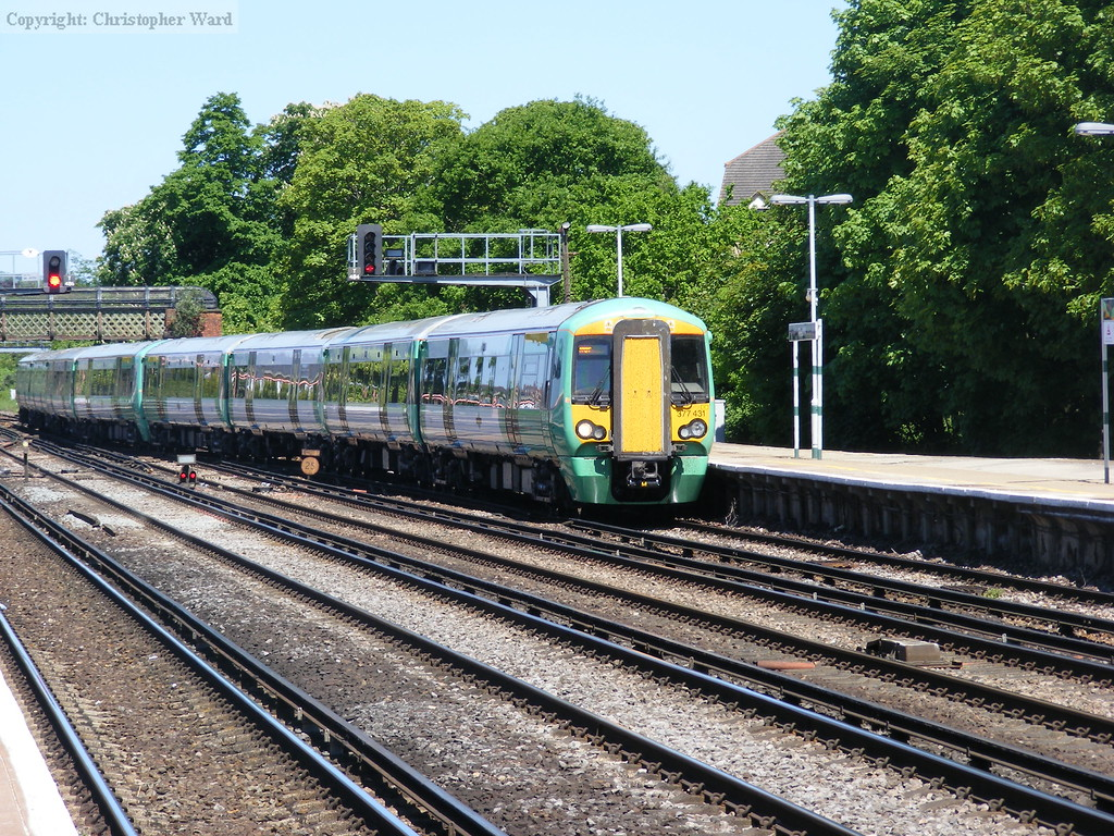 A Southern service at Redhill