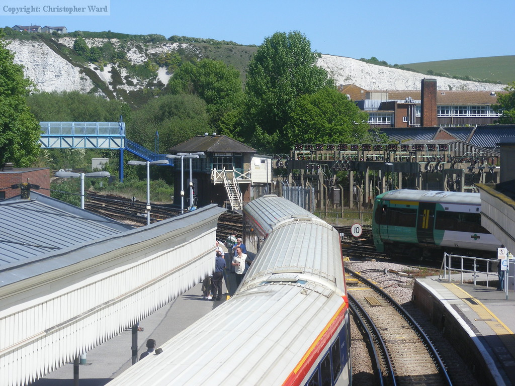 The tour at Lewes