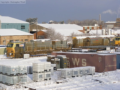De-icing trains