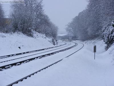 The line toward Horsham