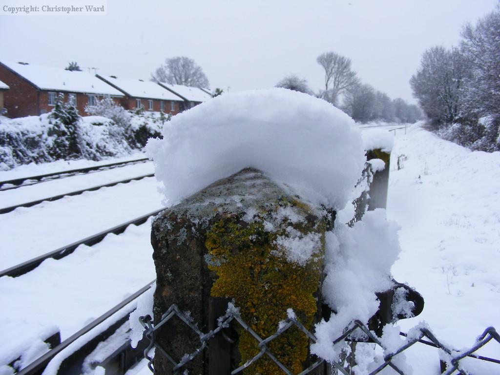 The depth of snow