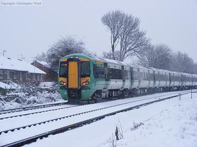 A London train