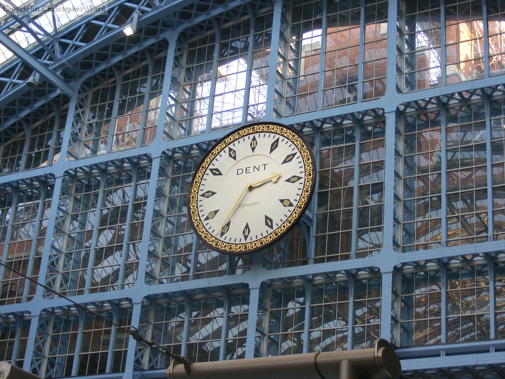 The refurbished clock