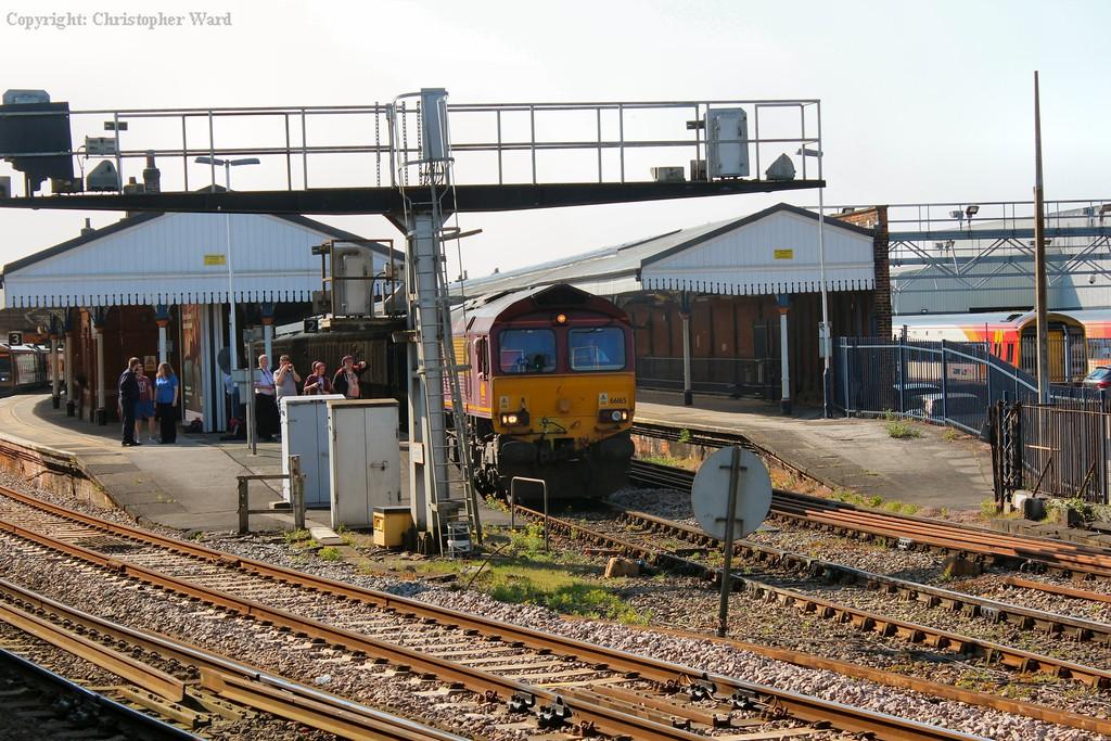 66165 gets away from Salisbury