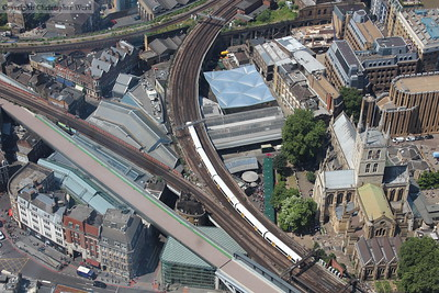 Trainspotting from the Shard - July 2013