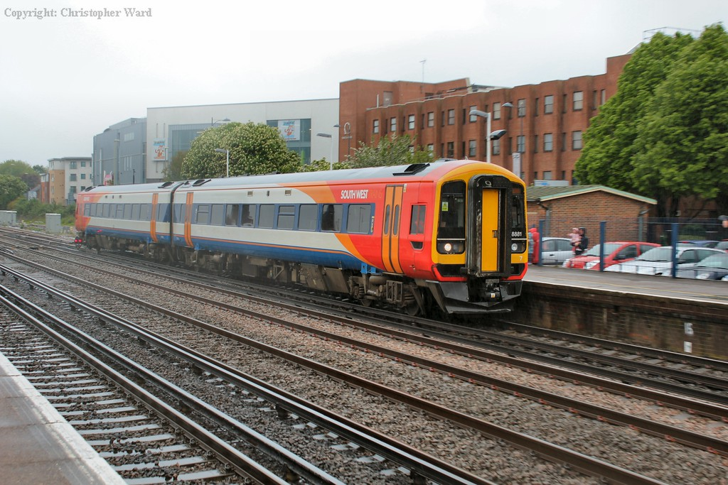 An SWT 158 on a Romsey service