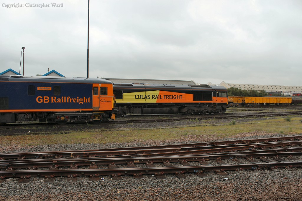 The 73 and 66 in the yard