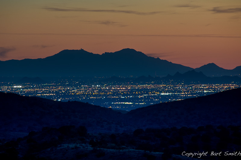 Tucson from the AZT