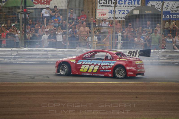 2011 National Hot Rod World Final & Spedeweekend - Clive Marchant