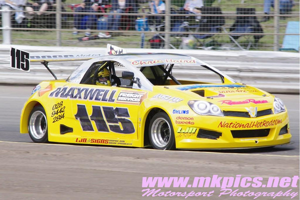 Saturday Practice & Qualifying sessions  - Ipswich spedeweekend - Martin Kingston